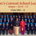 Group Photos of Classes LKG to XII 2018 - 19